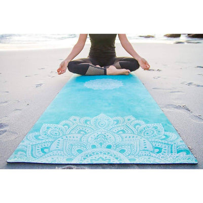 Yoga Design Lab / Mandala Turquesa Yoga Mat 1.5mm