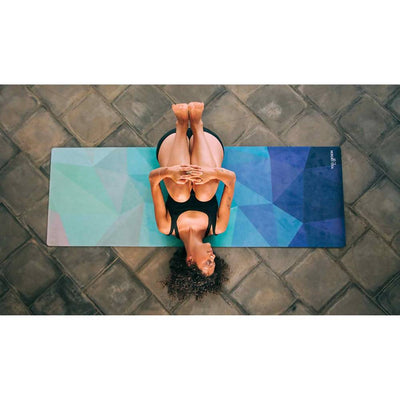 Yoga Design Lab /Geo Blue Yoga Mat 3.5mm
