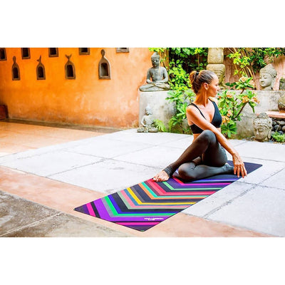 Yoga Design Lab / Chevron Black Yoga Mat 3.5mm