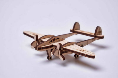 PUZZLE 3D LIGHTING PLANE ARMABLE
