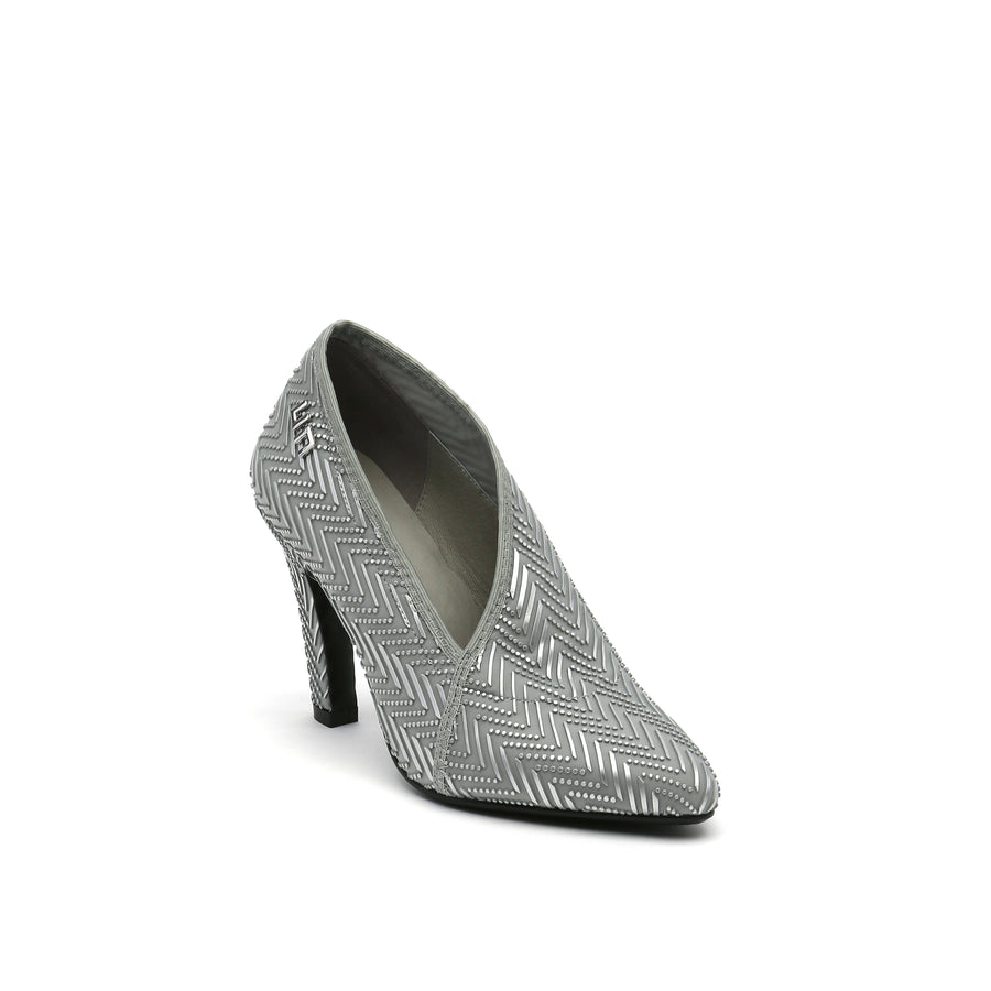 Fold Lite Hi Cloud and Silver - Zapato Mujer color Plateada