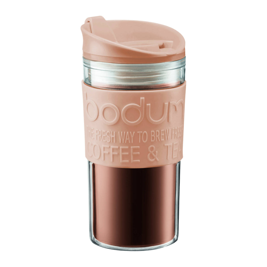 Bodum TRAVEL MUG doble pared 350 ml . Color Beige Modelo 11103-945BE