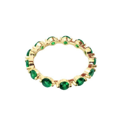 Anillo bubble green