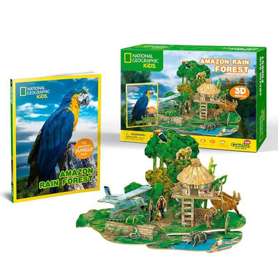 Amazon Rain Forest National Geographic Puzzle 3D
