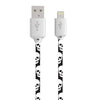 TECH N' COLOR Impression 3 Foot MFi Lightning® Compatible Pattern Charge & Sync Cable