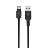 Extended USB-IF Certified 6 Foot Type-C™ to USB Type-A Charge & Sync Cable