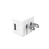 TECH N' COLOR 1.0A Single USB ETL Certified Wall Charger