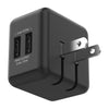 Accelerate 3.4A Dual USB Wall Charger