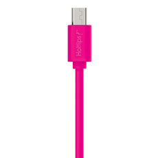 TECH N' COLOR 3 Foot EMI-Shielded Micro-USB Charge & Sync Cable