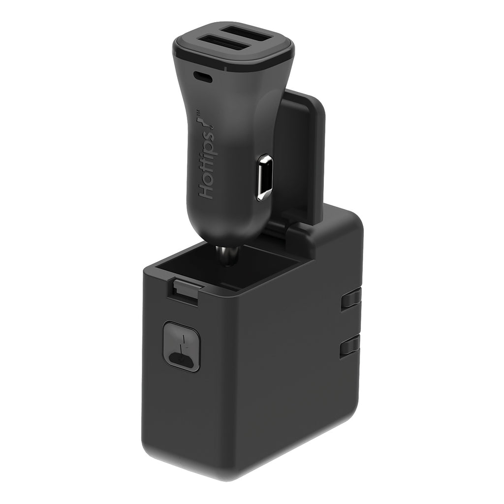 Entourage 2.4A All-in-One Car & Wall Charger with Micro-USB & MFi Lightning® Adapter Cable