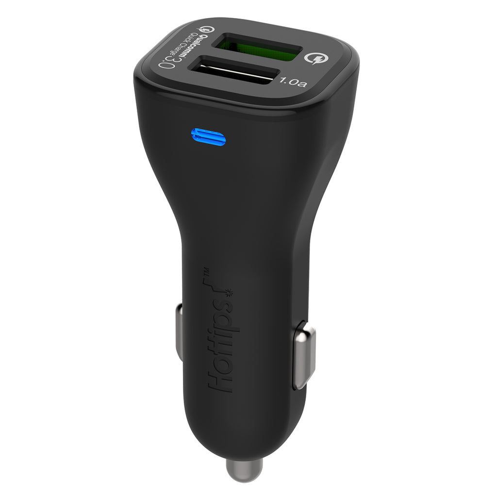 Qualcomm® 3.0 Dual USB 20W Car Charger