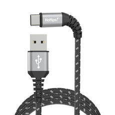 DuPont™ Kevlar® Dura Armor™ 4 Foot USB-IF Certified Type-C™ to Type-A Charge & Sync Cable
