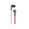 Knot-Blocker Tangle-Free Flat Cord Stereo Earbuds