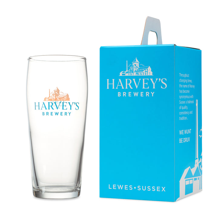 Pint Straight Glass - Harvey's Brewery, Lewes