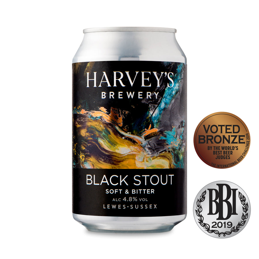 Black Stout - Harvey's Brewery, Lewes