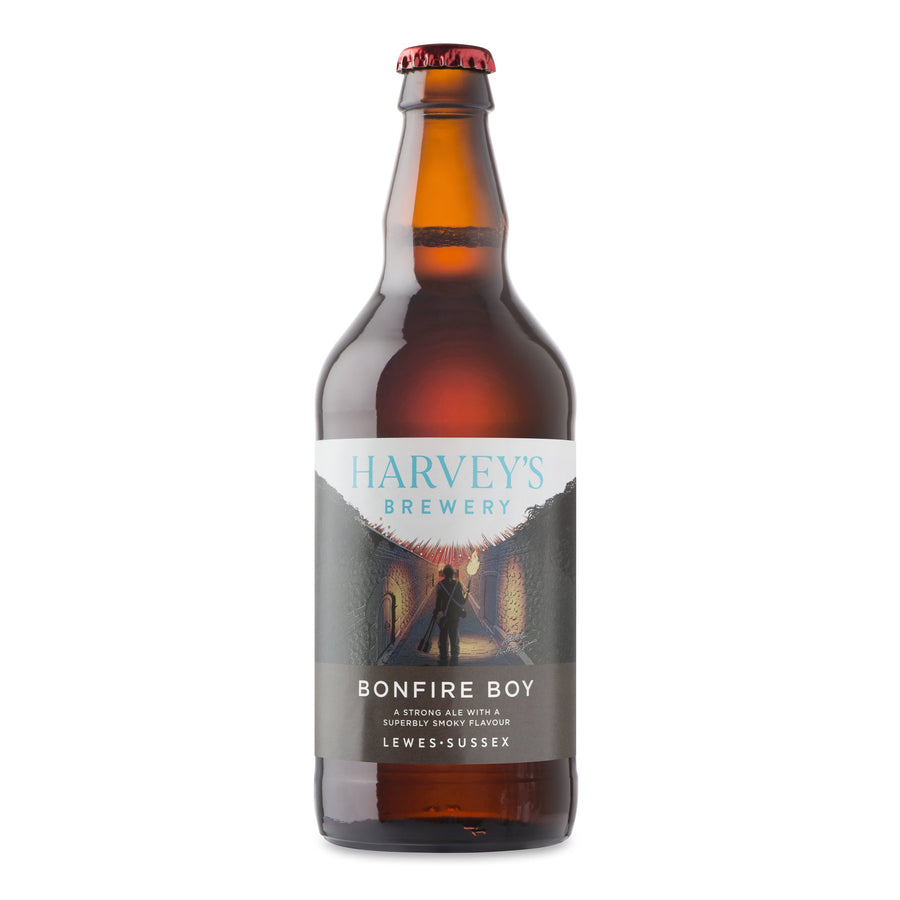 Bonfire Boy - Harvey's Brewery, Lewes