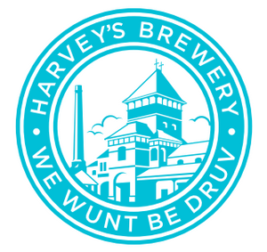 Grey and Teal 'Wunt Be Druv' T Shirt - Harvey's Brewery, Lewes