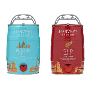 Mini-Keg Best and Old Duo Pack - Harvey's Brewery, Lewes