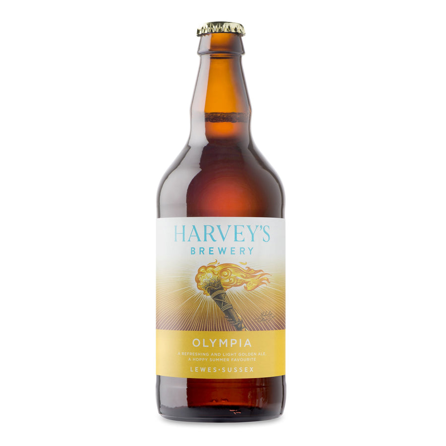Olympia Golden Ale - Harvey's Brewery, Lewes