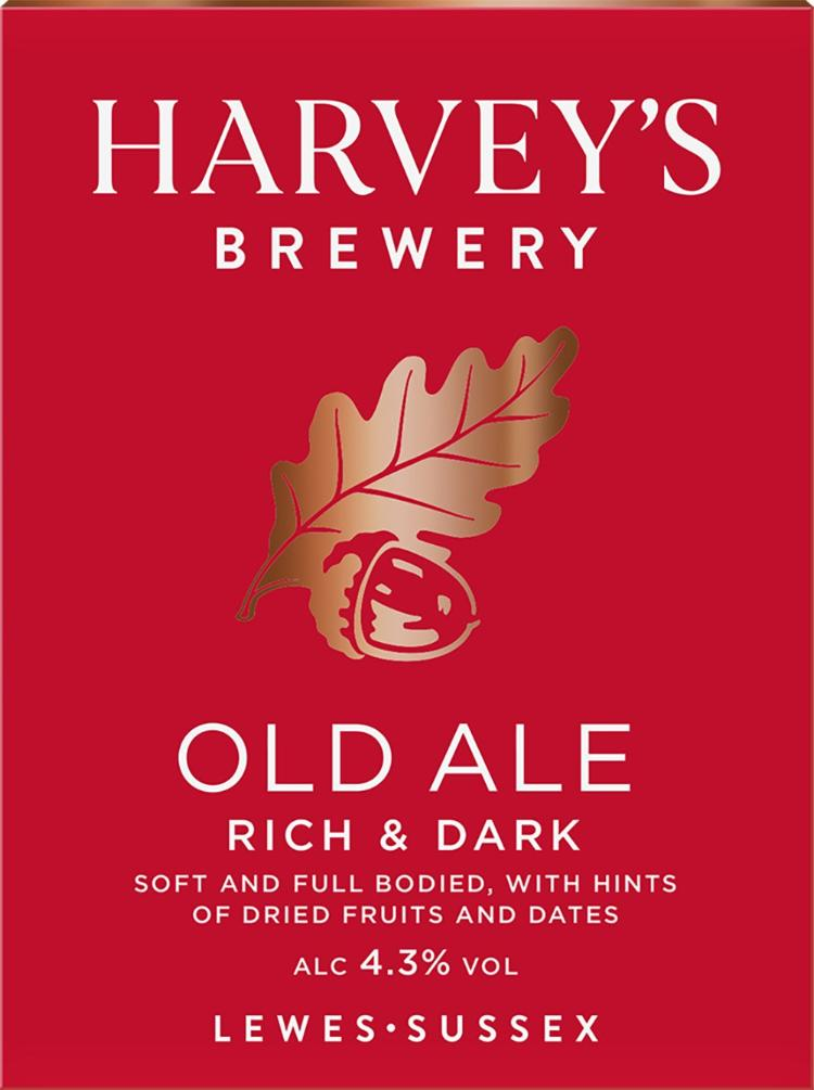 Old Ale - Harvey's Brewery, Lewes