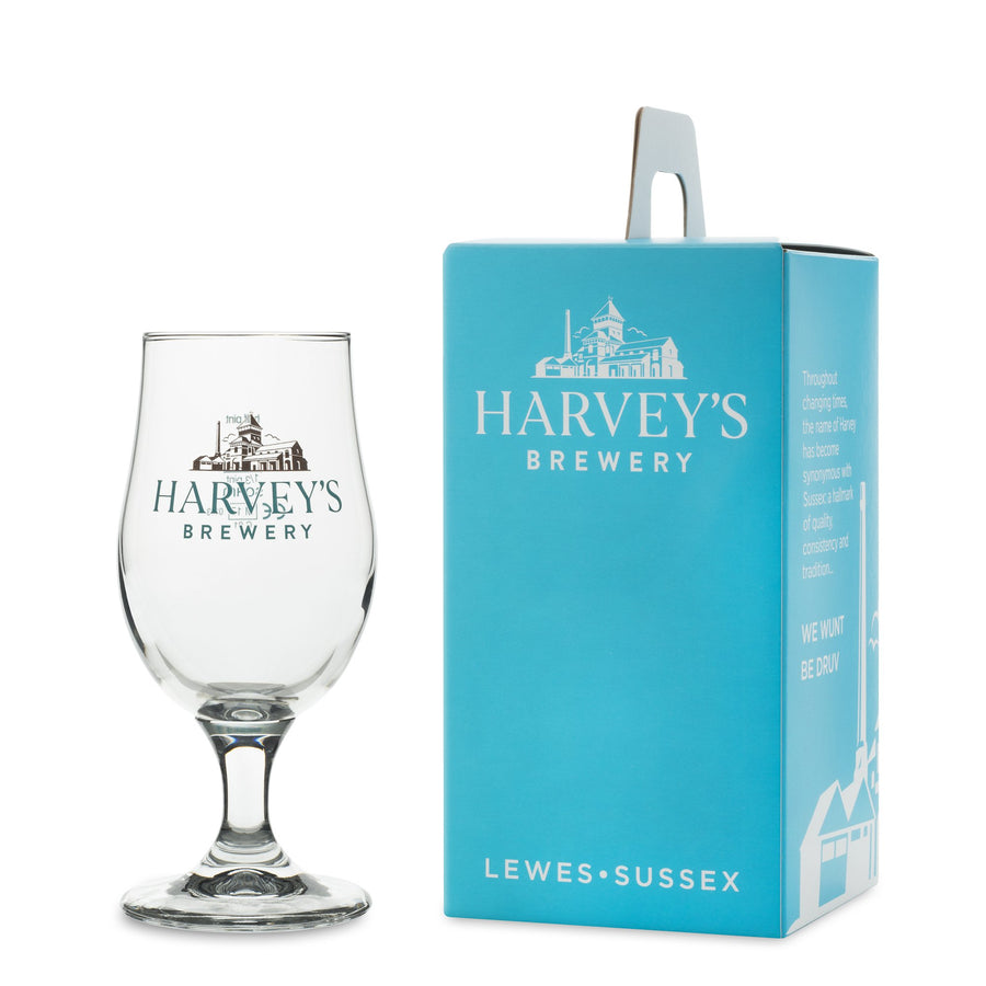 Half Pint Glass - Harvey's Brewery, Lewes
