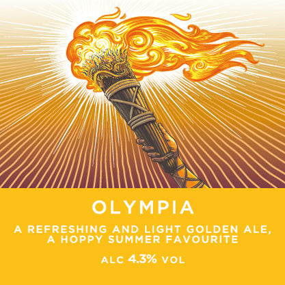 Olympia Golden Ale - Harvey's Brewery