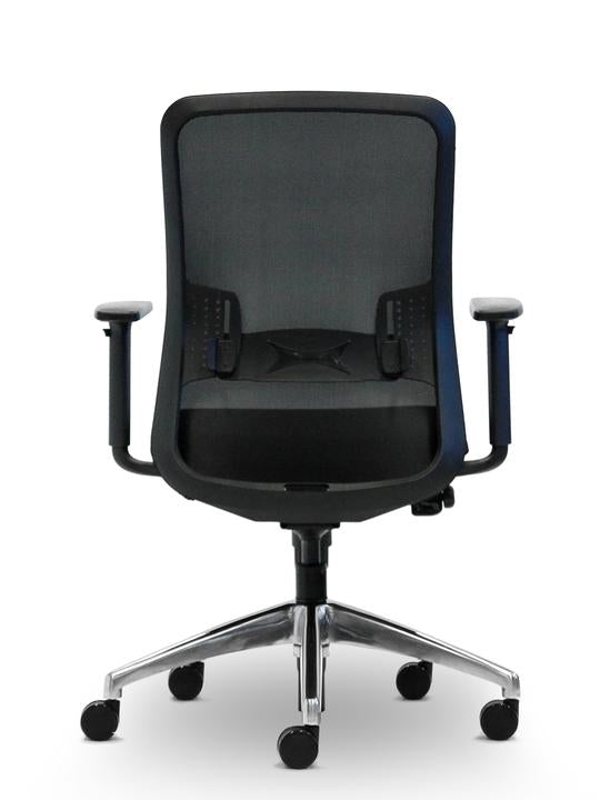 Graphite Office Chair - Black - Task / Desk Chairs - pimp-my-office-au