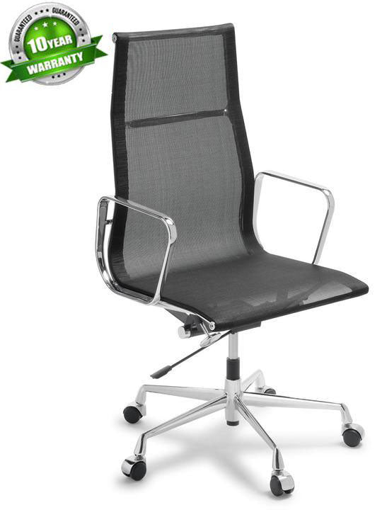 Alu Executive High Back Mesh - Boardroom/ Meeting Chairs - pimp-my-office-au