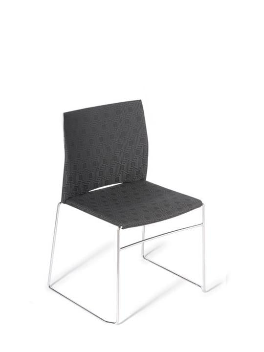 Versa Sled side chair - Upholstered seat & back - Visitor chairs
