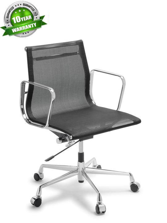 Alu Executive Medium Back Mesh - Boardroom/ Meeting Chairs - pimp-my-office-au