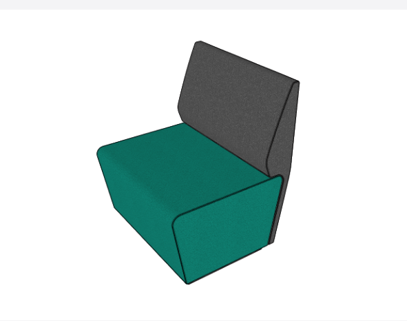 Motion Loop Straight Backrest - Seating & Ottomans - pimp-my-office-au