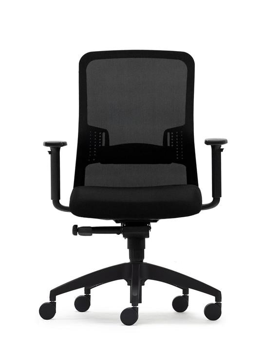 Black Graphite Office Chair - Task Chars