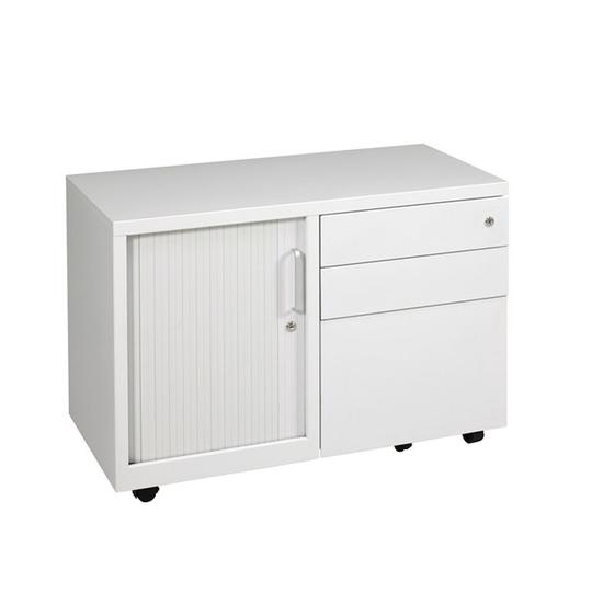 Ultimet Tambour Door Caddy Unit - Mobile Pedestals/ Caddys - pimp-my-office-au