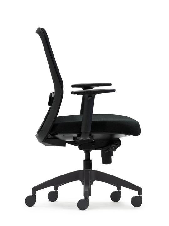 Black Graphite Office Chair - pimp-my-office-au