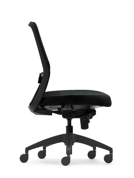 Black Graphite Office Chair - Task / Desk Chairs