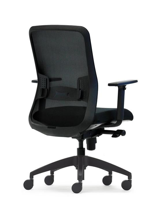 Black Graphite Office Chair- Task Desk Chairs