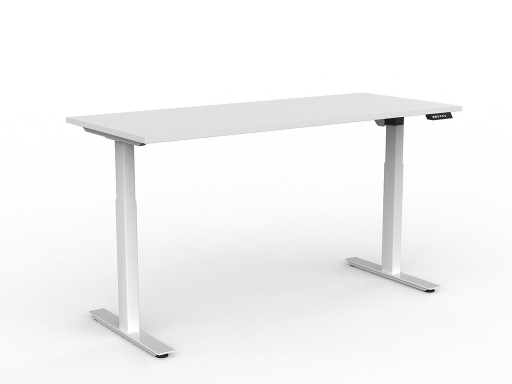 Agile 2-Column Electric Individual Desk ergonomic