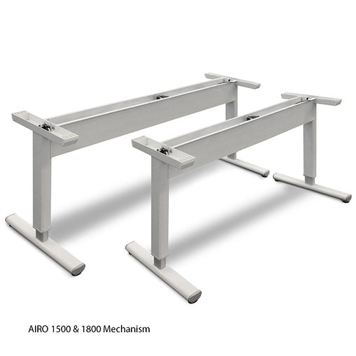 AIRO - gas lift sit to stand Desk 1200mm wide