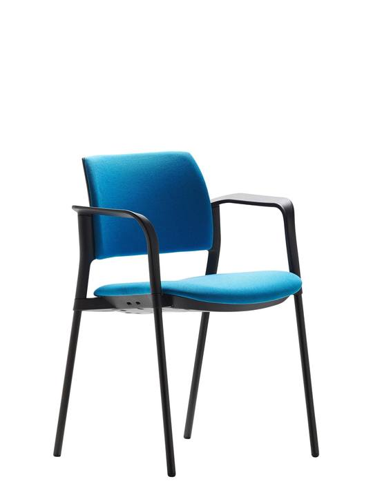 Altus Side Chair Upholstered Seat and Back - Boardroom/ Meeting Chairs