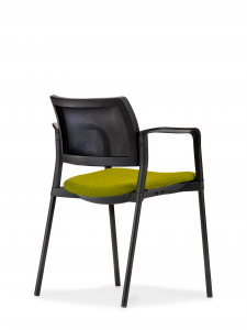 Altus Side Chair – Upholstered Seat & Mesh Back