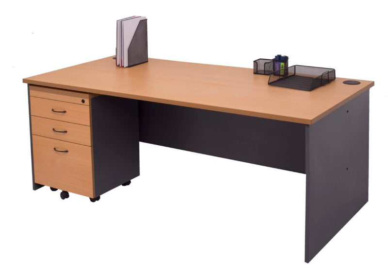 Rapid Worker Open Desk - Single Person Desk - pimp-my-office-au