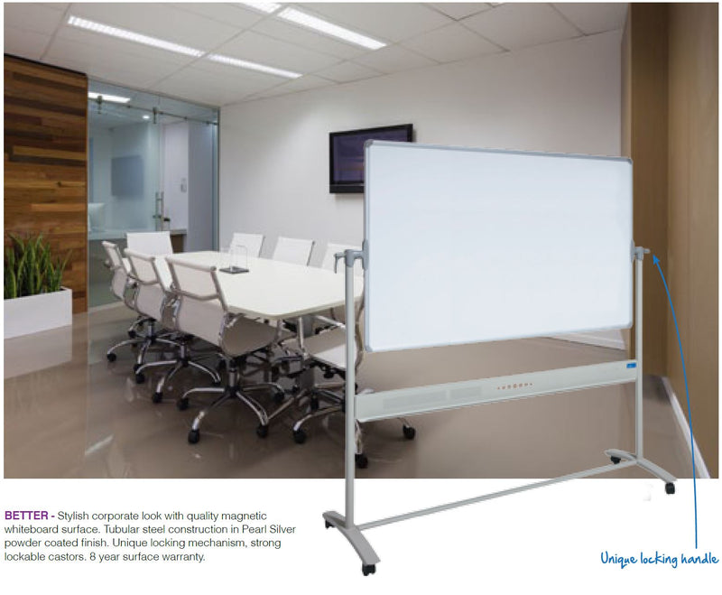 Communicate Mobile Magnetic Whiteboard - pimp-my-office-au