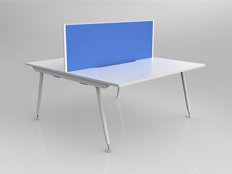 Cosmic Shared Double-sided Desk with screen