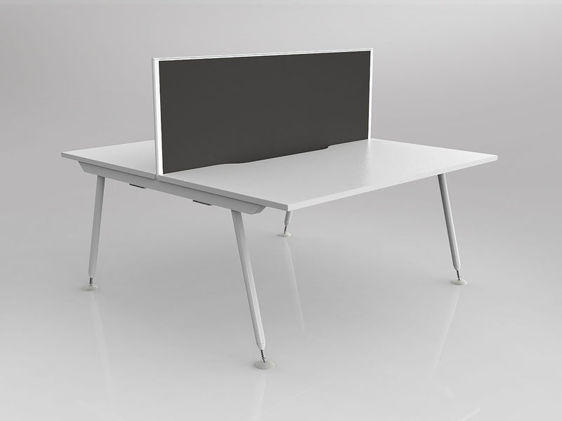 Cosmic Shared Double-sided Desk with screen 1500mm