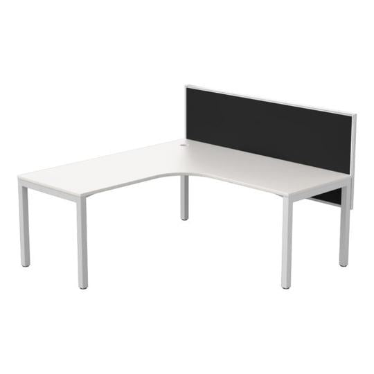 Cubit + Connect 30 Single Corner Workstation - Single Person Desk - pimp-my-office-au