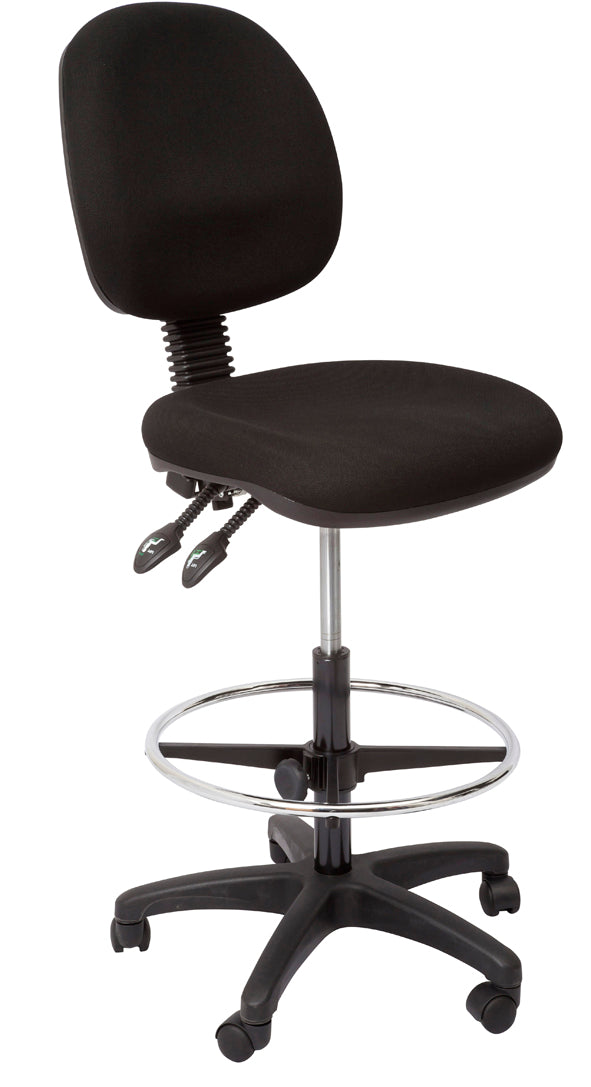 Rapidline Drafting Chair with 2 Lever Mechanism
