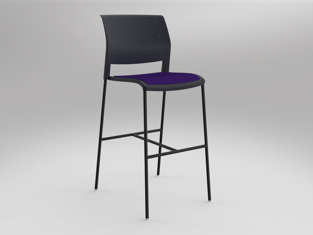 Game Chair Barstool/Black
