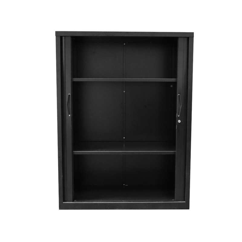 Go-tambour-door-cupboard-blak