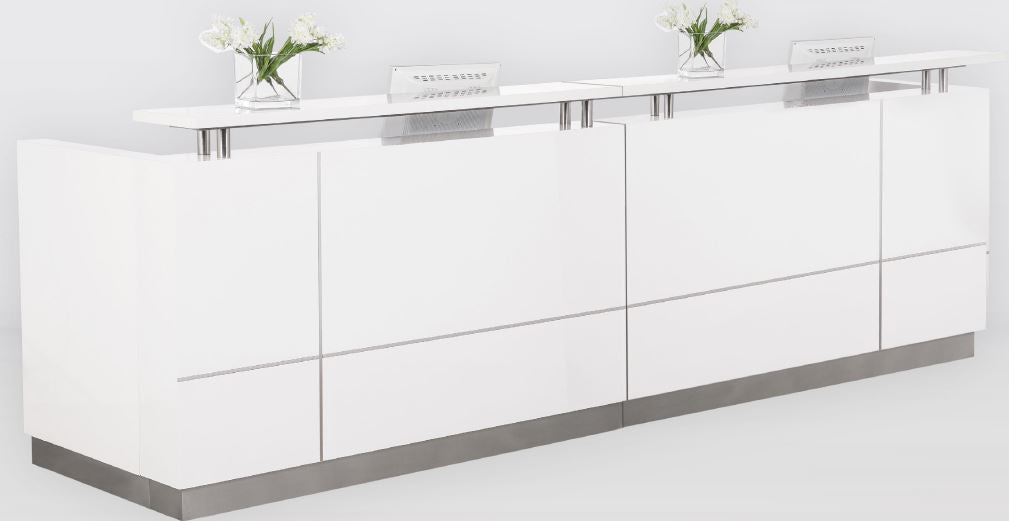 Hugo Reception Desk 3200mm