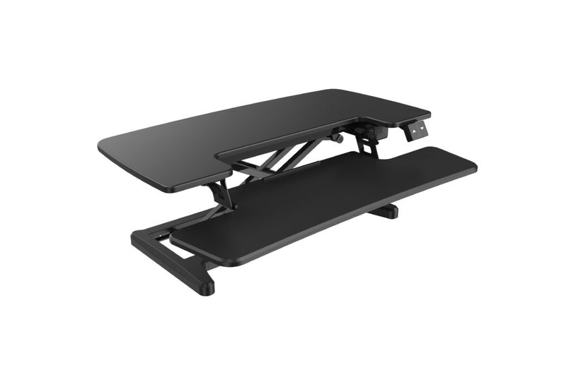 Rapid Flux Electric Desk Riser - sit to stand desk riser